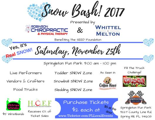 Snow Bash!