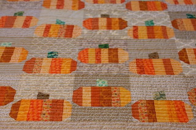 """Pumpkin """"Window Quilts"""""""