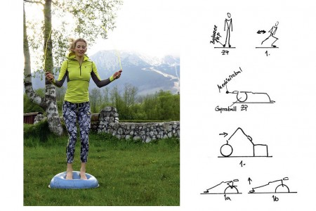 Zlepši koordinaci asilový trénink: Zařaď balanční cvičení!