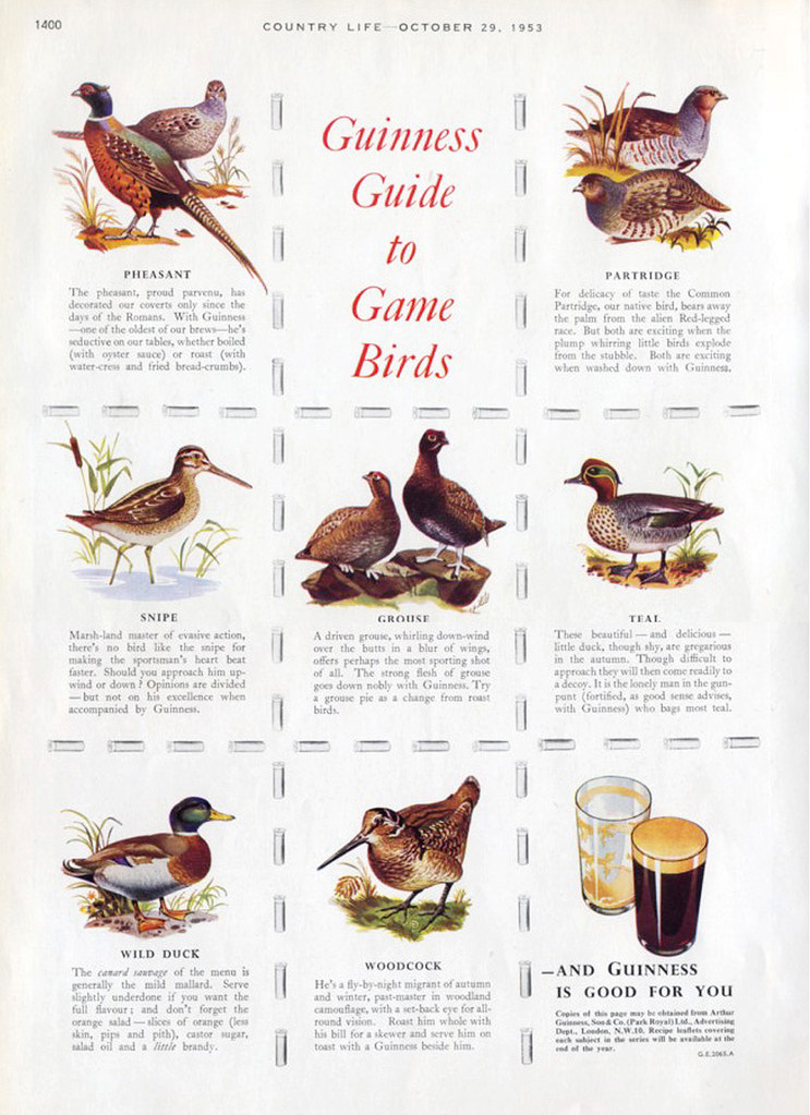 Guinness-1953-game-birds