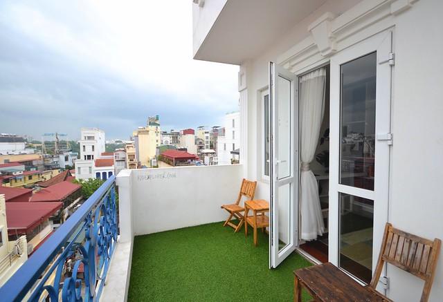nexy hostel hanoi balcony