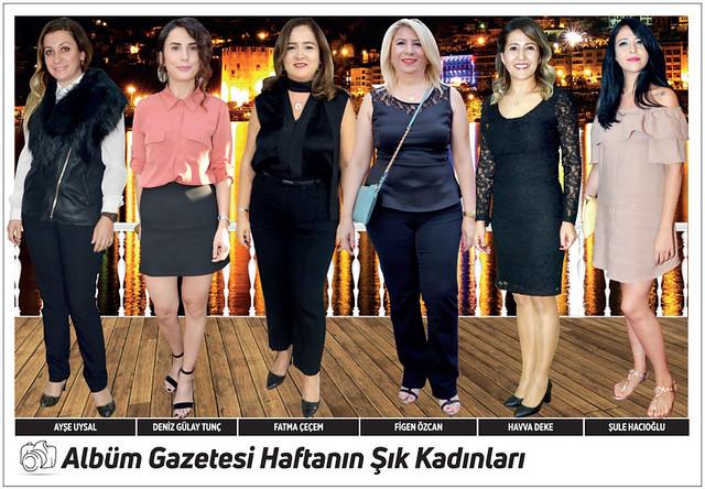 Ayşe Uysal, Deniz Gülay Tunç, Fatma Çeçem, Figen Özcan, Havva Deke, Şule Hacıoğlu