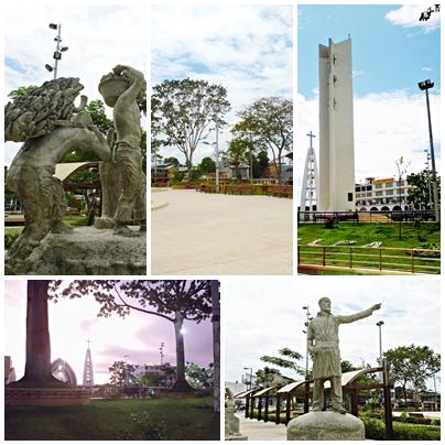 Plaza de Armas de Pucallpa (Ucayali - Perú)