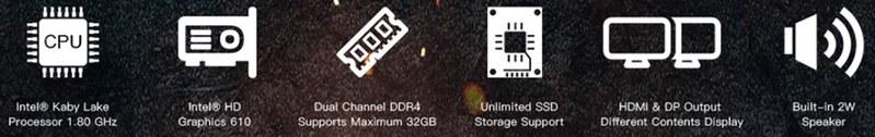 VORKE V5 Barebone Mini PC 写真 (3)