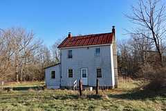 Abandoned farm tenant house, near Bloomfield, VA