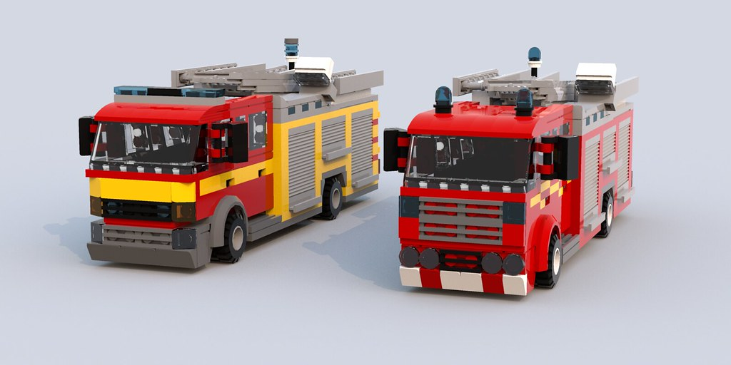 Custom built UK Fire Engine