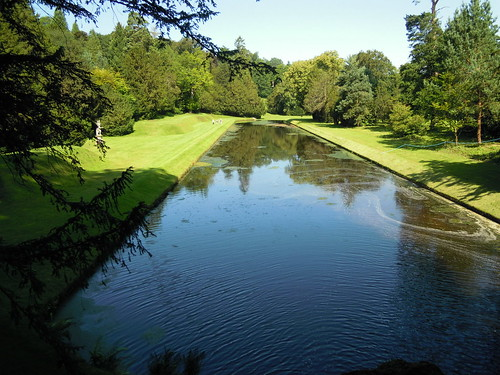 Studley Royal Water Garden, Fountains Abbey. From Studying Abroad in London: A Step Back in Time in Northern England