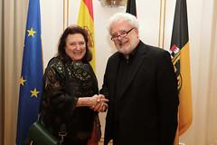 Murawski empfängt spanische Botschafterin