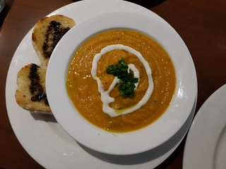 Pumpkin Soup Special at The Green Edge