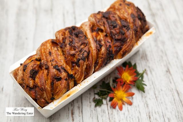 Savory harvest babka