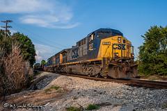 CSX 327 | GE AC4400CW | CN Fulton Subdivision
