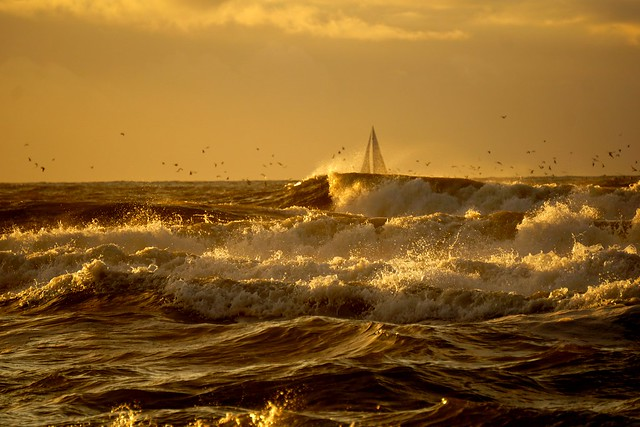 flying - sailing