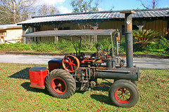 Antique Steam Tractor, Pinoneer Florida Museum, Dade City (1 of 2)