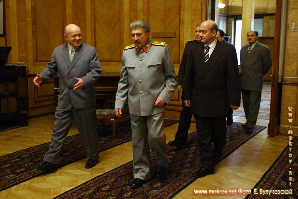На съемках Художественный фильм «Товарищ Сталин» и Фотоискусство