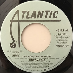 CINDY MIZELLE:THIS COULD BE THE NIGHT(LABEL SIDE-A)