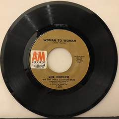 JOE COCKER:WOMAN TO WOMAN(RECORD SIDE-A)
