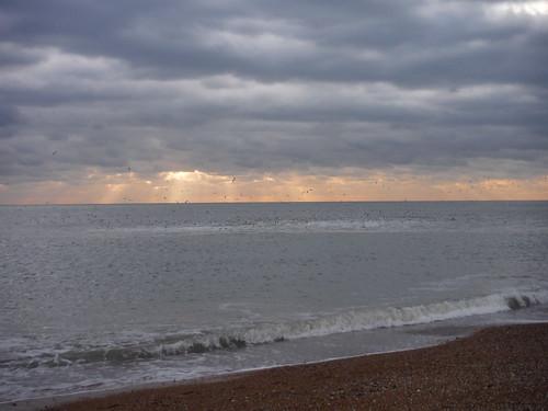 The Setting Sun, Dungeness Beach