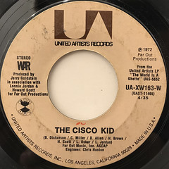 WAR:THE CISCO KID(LABEL SIDE-A)
