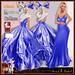 ALB SHANI dress & gown blue
