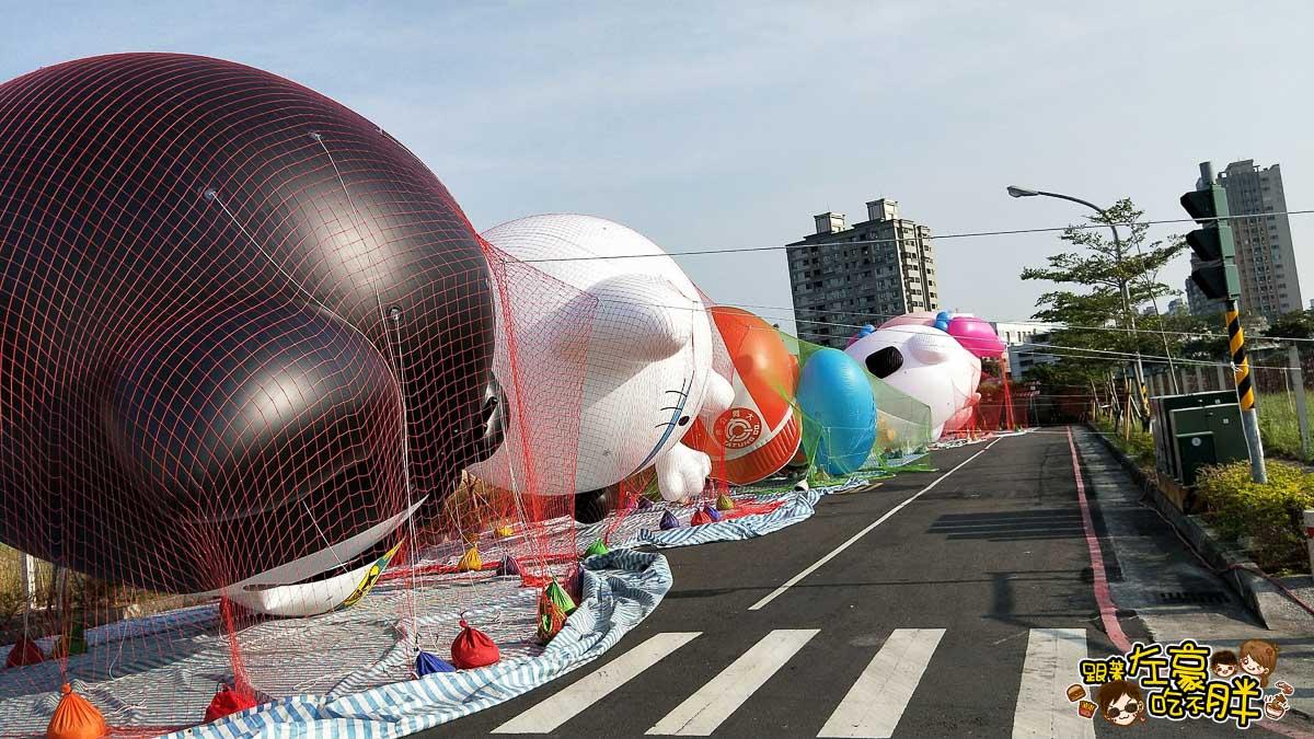高雄夢時代OPEN大氣球遊行-10