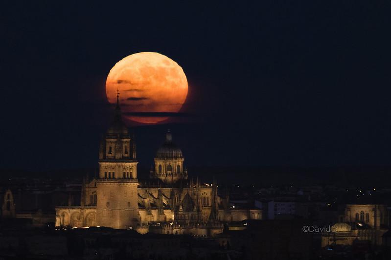 Superluna en Salamanca