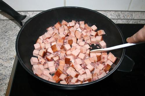 35 - Leberkäse & Speck anbraten / Fry meat loaf & bacon