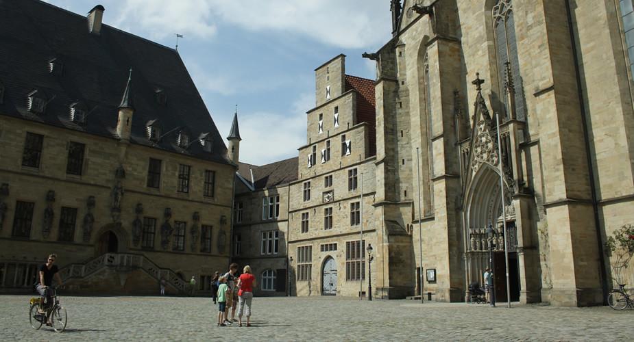 Weekend in Osnabrück, Rathausplatz | Mooistestedentrips.nl