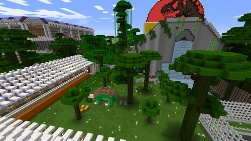 Minecraft - Welcome to Jurassic Park