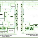 Denah Lantai 2 (dua) dan 3 (tiga) Gedung B Gedung Belakang