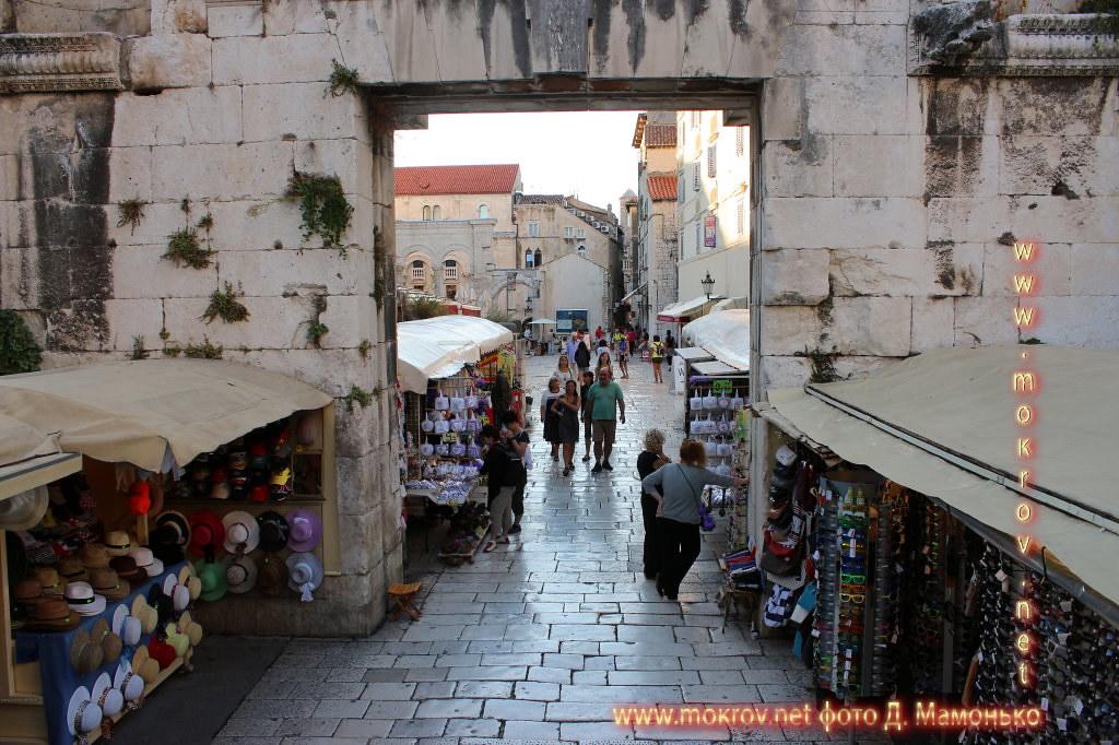 Сплит — город в Хорватии художественная фотография