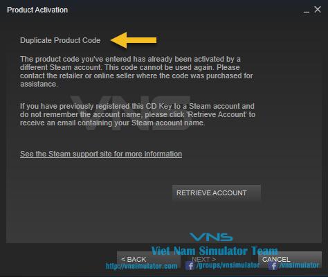 Hướng dẫn add key game steam - VNS Gaming Store