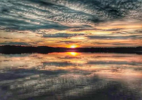 sunset northcarolina reflections