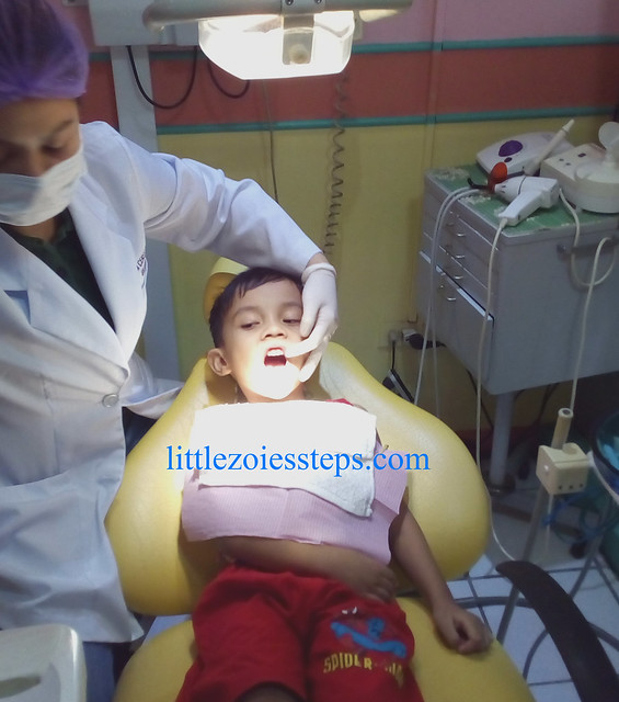 Matti's 1st Dental Visit