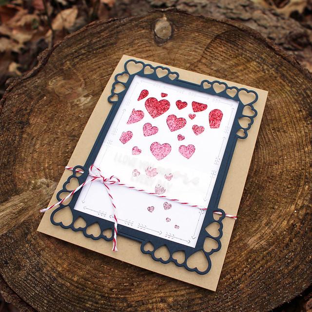 Lizzie Jones - Love You More Card