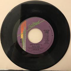 GRACE JONES:NIPPLE TO THE BOTTLE(RECORD SIDE-A)