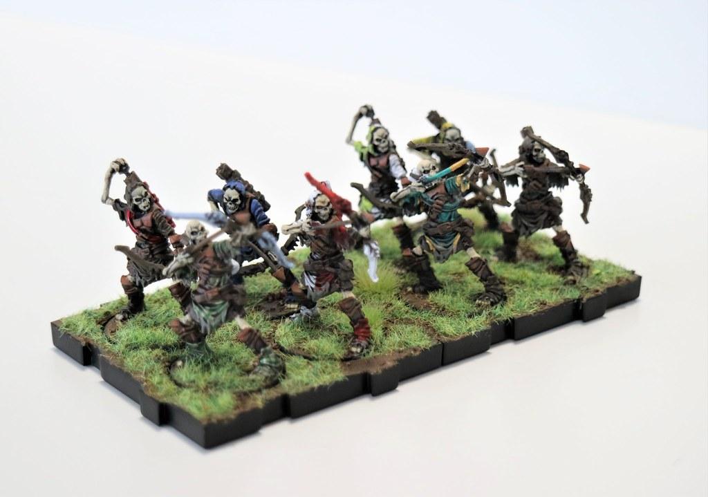 Runewars Miniatures Reanimate Archers Front