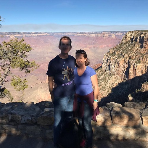 When you realize your nine year old photographer doesn't think about shadows.... Guess we'll have to go back and get another photo at the Grand Canyon some time.