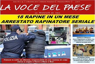 Noicattaro. Prima pagina n. 43-2017 front
