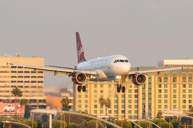 N530VA - Virgin America - Airbus 320