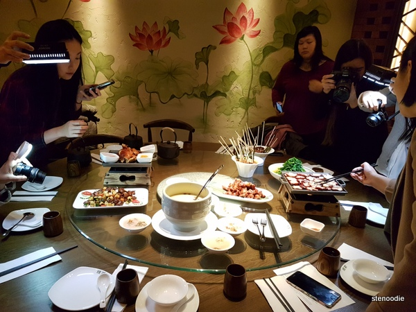 Green Tea Restaurant tasting
