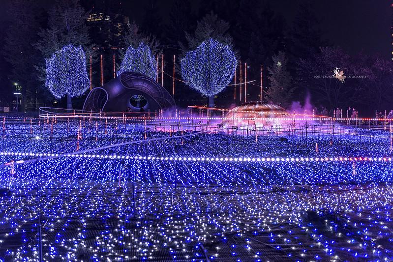 東京中城聖誕燈飾