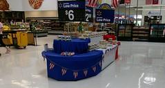 Patriotic cookie display