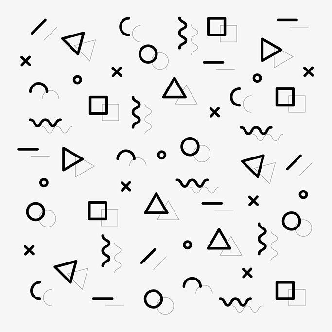 Memphis pattern 1