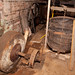 TIMS Mill Tour 2017 UK - Churchill Forge - bellows and grinding stone-0688