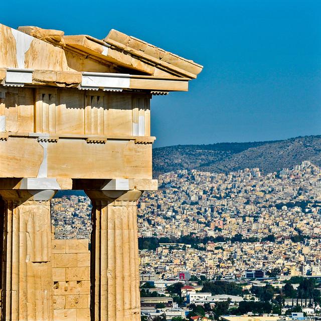 The Acropolis, Athens, Greece  アクロポリスの遺跡 、アテネ、ギリシャ