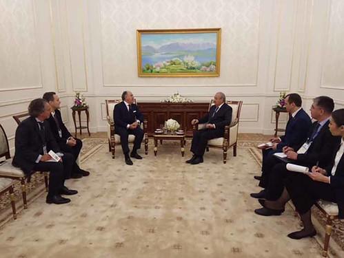 Reunión Ministros de Asuntos Exteriores Uzbekistán3