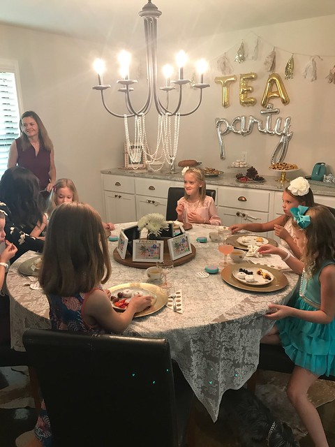 Kinley's tea party