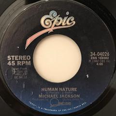 MICHAEL JACKSON:HUMAN NATURE(LABEL SIDE-A)