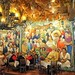 Mural in Mi Tierra, downtown San Antonio,  weekend, 2017