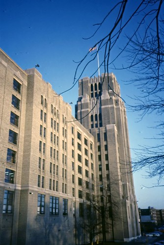 Sears Building, Fenway, Boston - Agfachrome - 1985